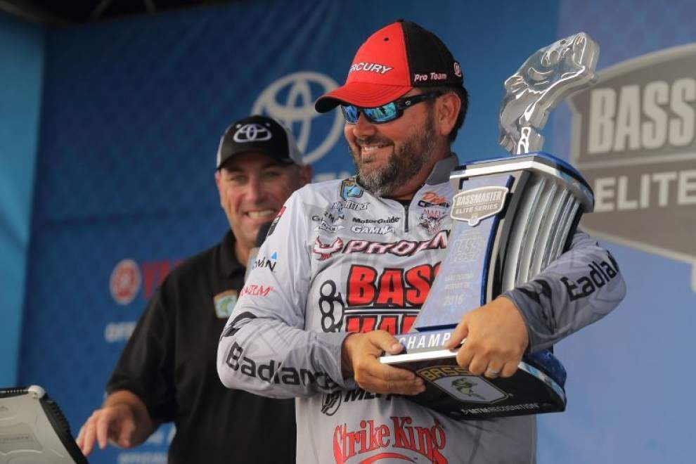 With Mississippi River falling, bass, speckled trout action should continue to improve _lowres