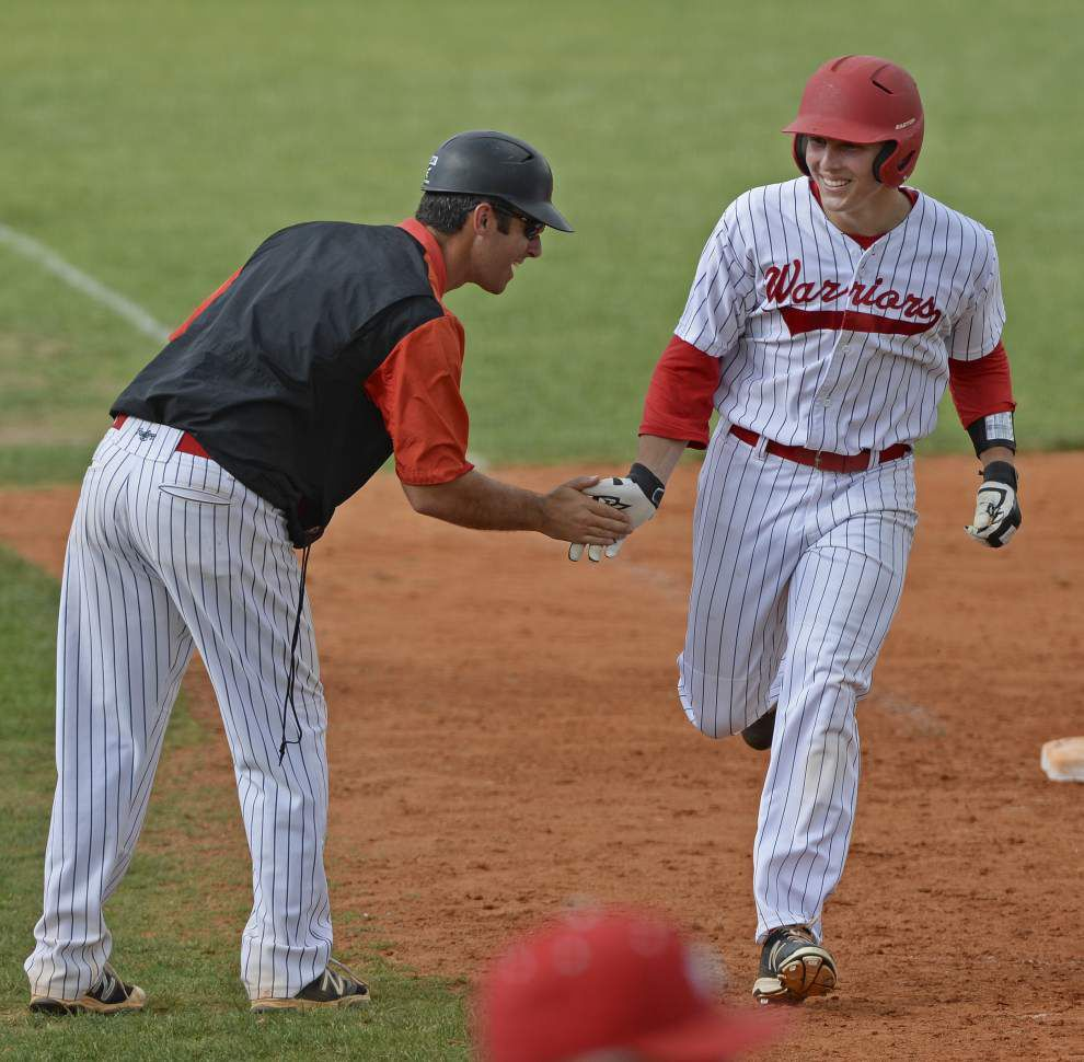 LHSAA baseball playoffs: Precise St. Michael rolls to victory over DeRidder _lowres