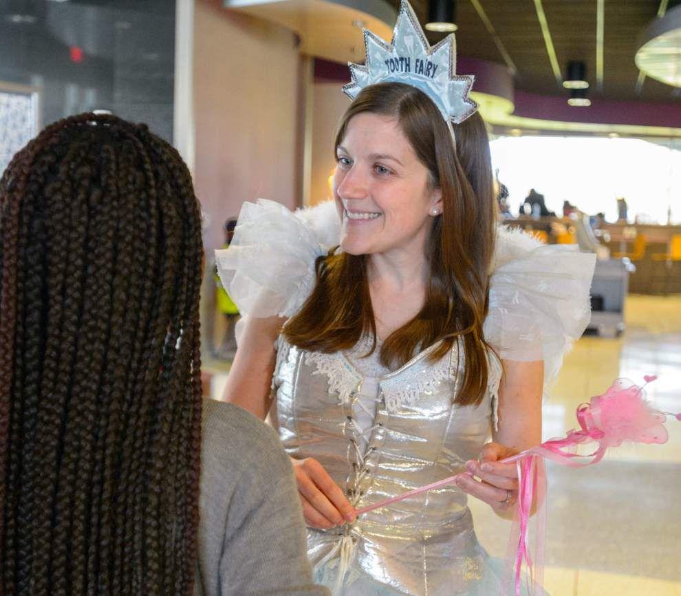 Students get dental screenings at LSU School of Dentistry _lowres