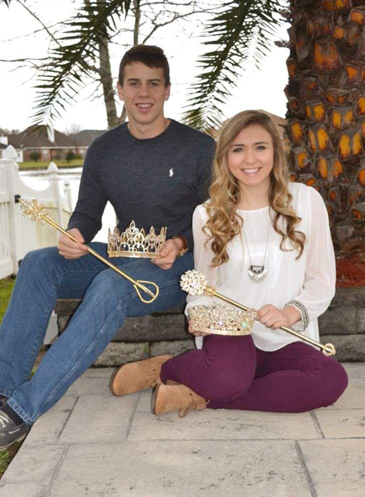 St.. Charles Catholic High School honors royal court of Krewe de Charles _lowres