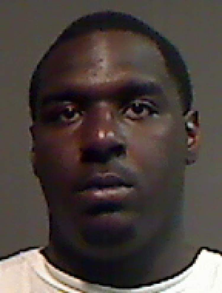 Baton Rouge man arrested after punching and kicking a woman Saturday night, the Sheriff's Office reports _lowres