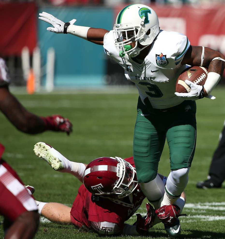 Tulane loses to Temple, falls to 1-15 outside Louisiana under Curtis Johnson _lowres