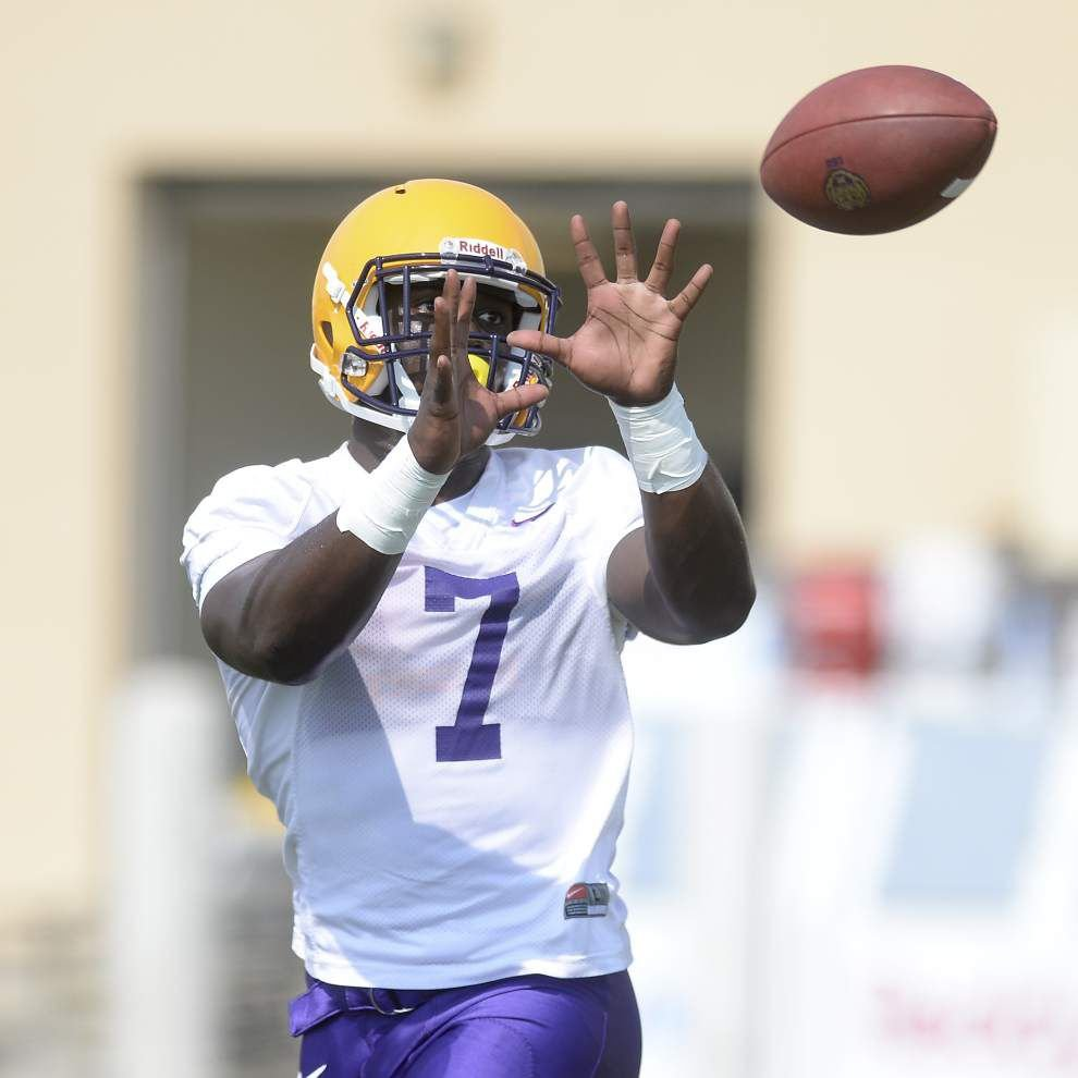 Leonard Fournette's recognition leads to good-natured fun at LSU _lowres