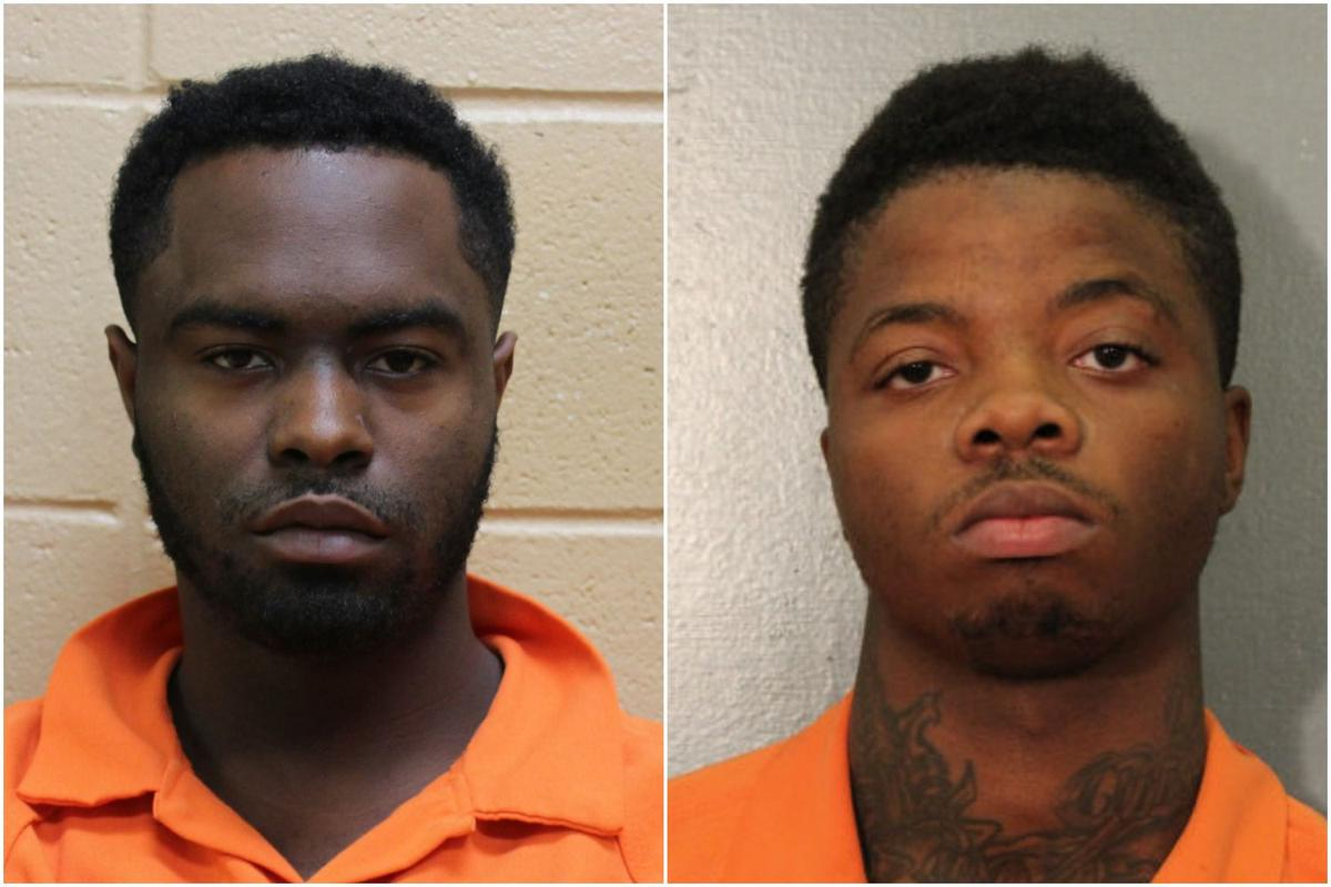 Jermaine Lewis Jr. (left) and Tyquan Williams (right)