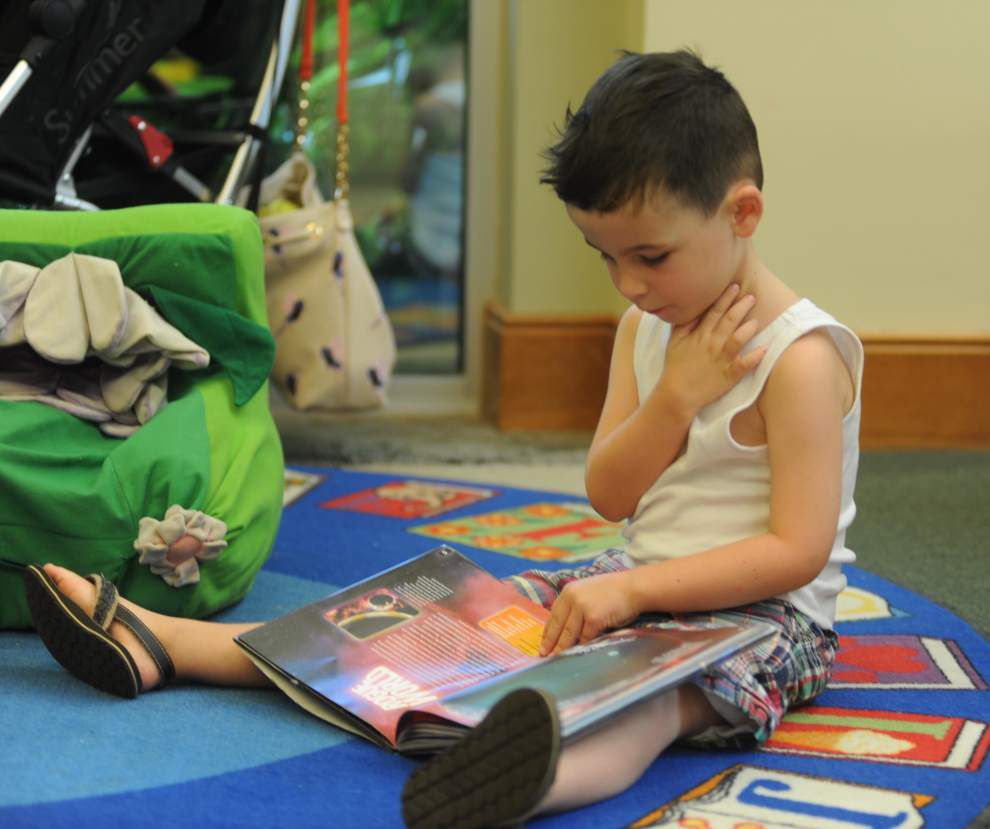 Children meet reading goals at Zachary library _lowres