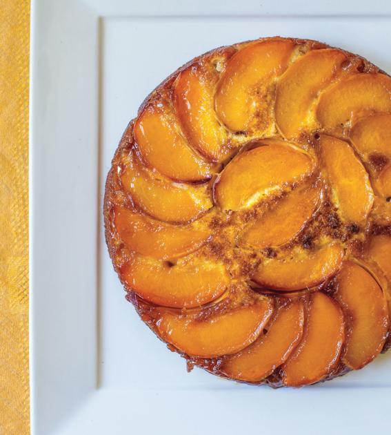 Side Dish: Recipe for Peach Upside-Down Cake