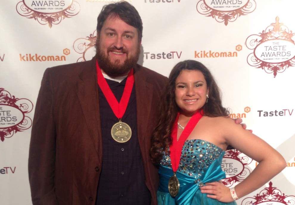 BR food blogger, N.O. kid chef, Emeril Lagasse honored at Taste Awards _lowres