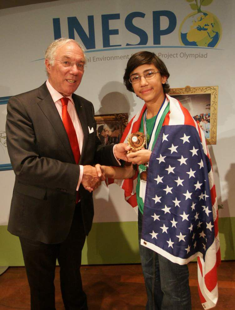 Kenilworth student takes bronze in sustainability competition _lowres