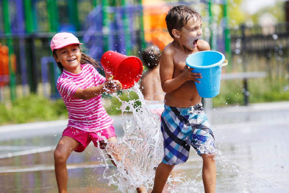 The true end of summer: Baton Rouge splash pads closing for season Halloween day _lowres