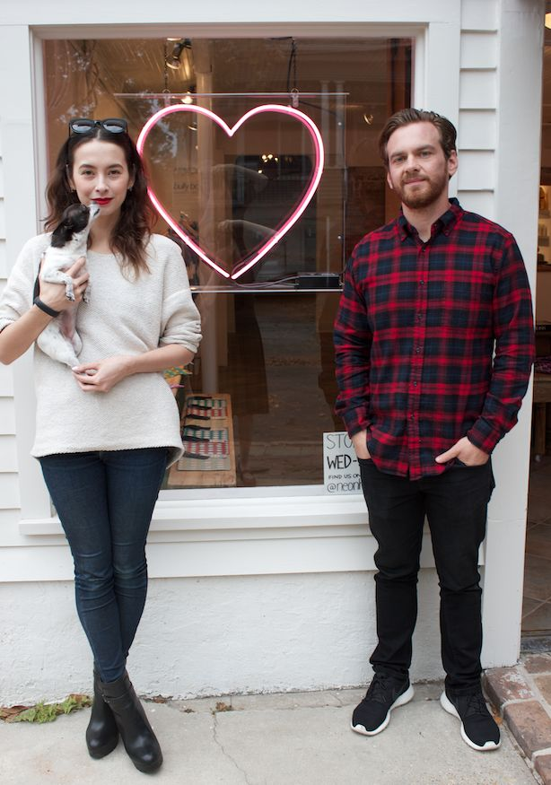 Shopgirl (and guy) style: Ali McNally and Chris Scheurich of Neon Heart_lowres