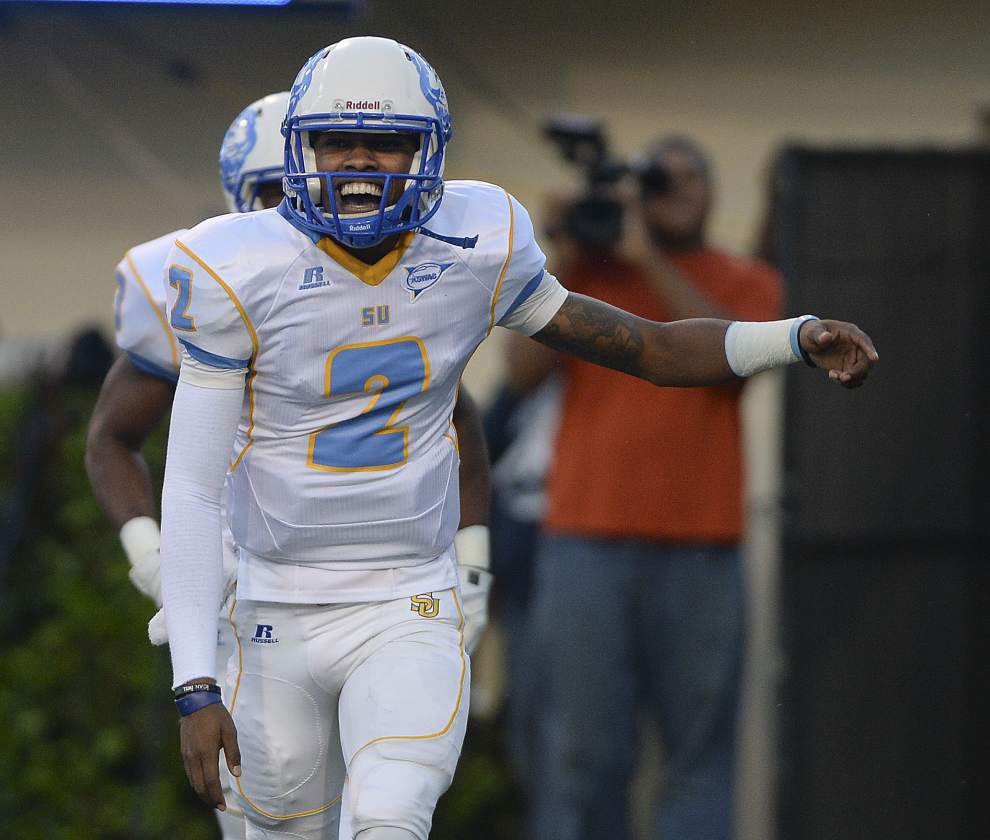 Southern quarterback Deonte Shorts returns, forms potent duo with Austin Howard _lowres
