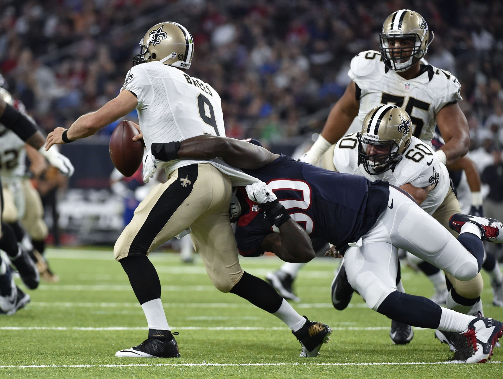 Texans fall to New Orleans Saints 13-0 in preseason game
