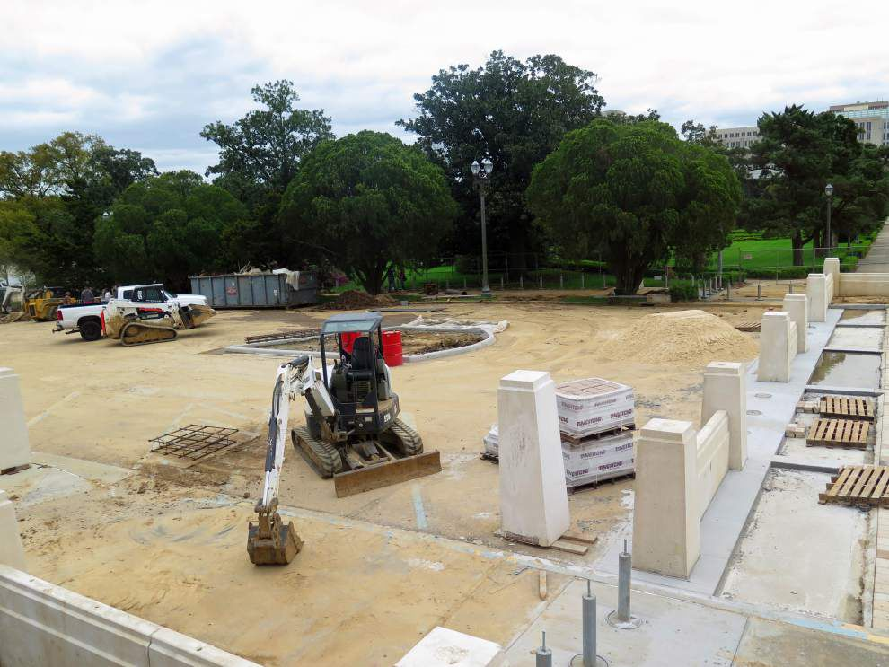 Louisiana's state Capitol security upgrade costs rise again; will it be ready in time for the upcoming session? _lowres