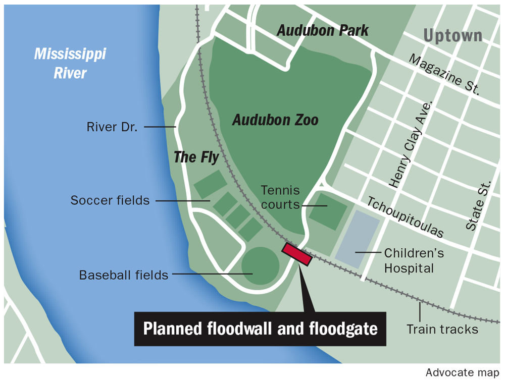 Planned Floodwall In Audubon Park S Fly Could Prevent