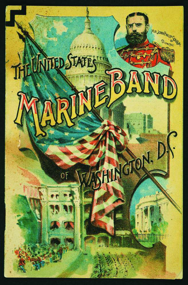 'The President's Own' Marine Band invades south Louisiana for tour _lowres