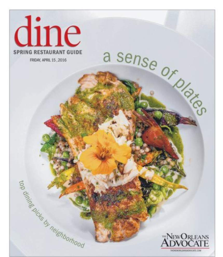 The Advocate's dining guide receives award _lowres