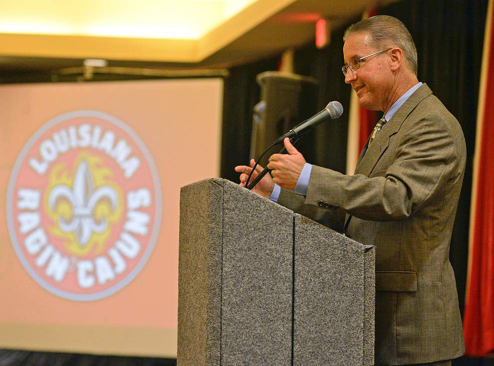 Ragin' Cajun Athletic Fund donations on path to set record _lowres