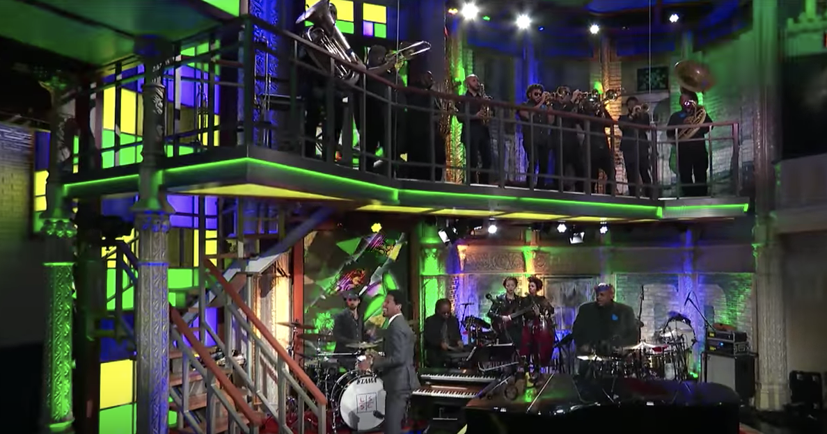 WATCH: Soul Rebels perform '504' on Late Show With Stephen Colbert_lowres