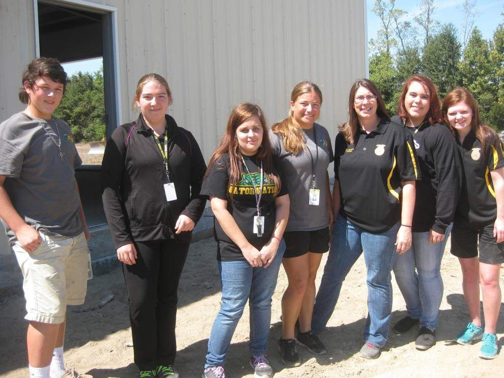 St. Amant High barn set to open in October _lowres