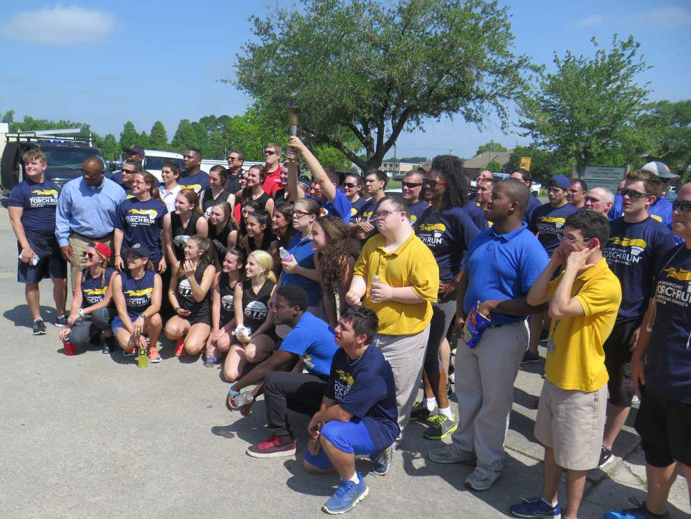 Torch run kicks off Special Olympics _lowres