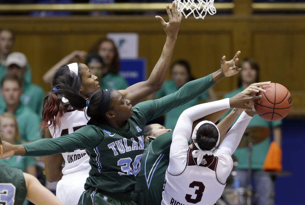 Playing 'the best basketball of her career,' Tierra Jones has the Tulane women on the rise entering Saturday's game vs. Tulsa _lowres