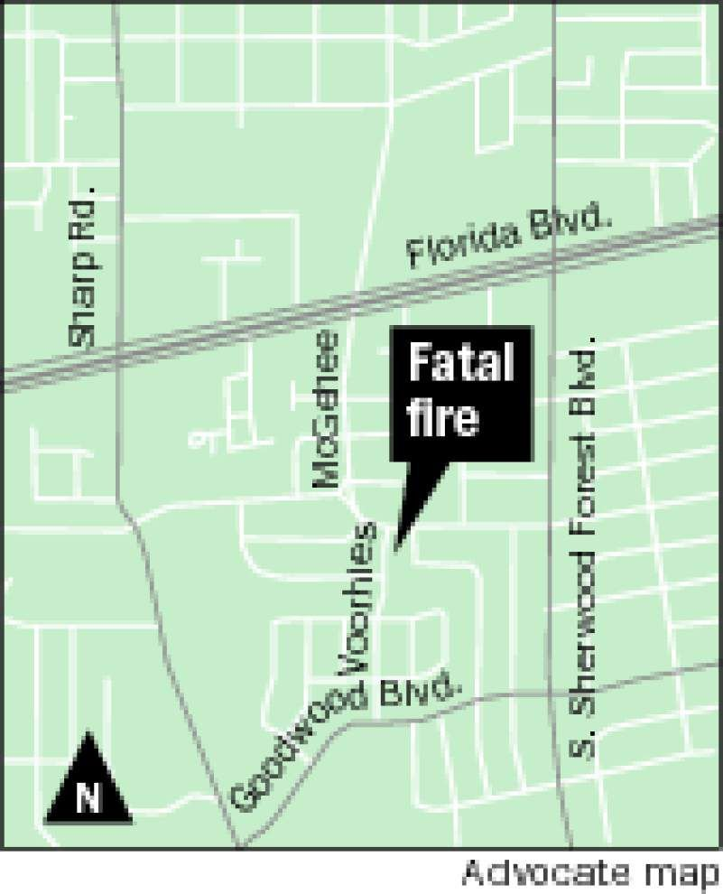 Baton Rouge man dies in fire started by child — the ninth juvenile-set fire in the city this year _lowres