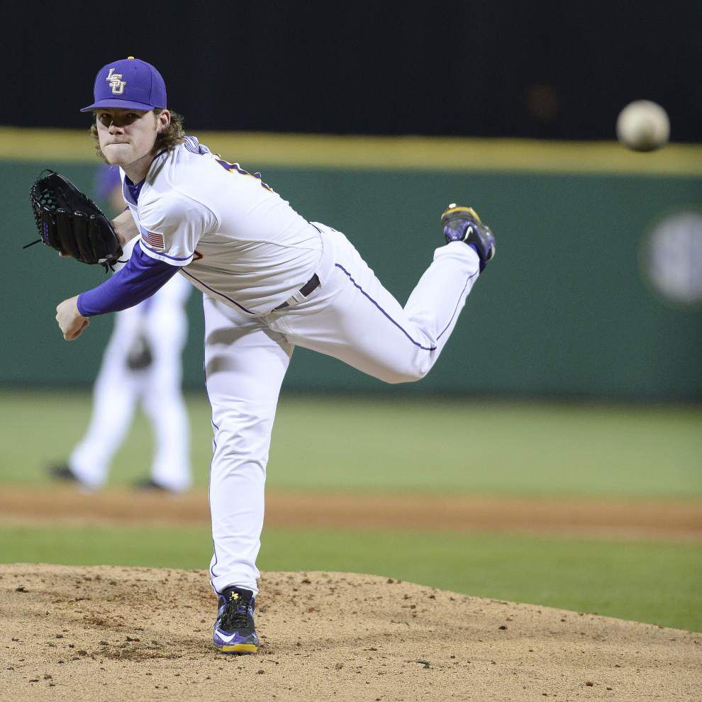 Nine months after Houston ended LSU's season, Tigers pitcher Jared Poché gets crack at Cougars _lowres