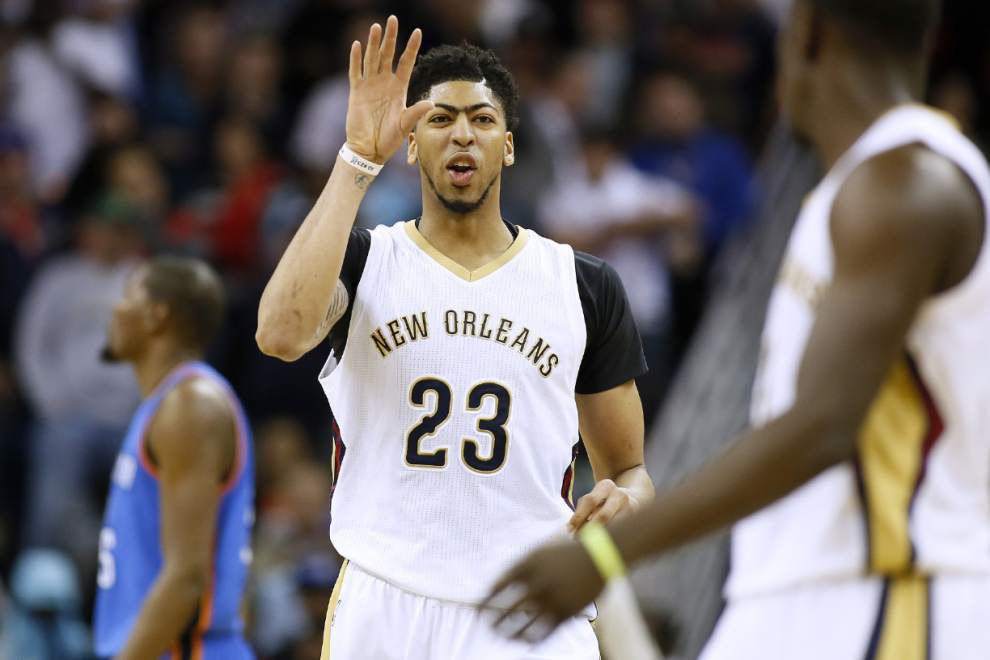 Walker: After win over Thunder, it's tough to tell exactly where Pelicans are at this point _lowres