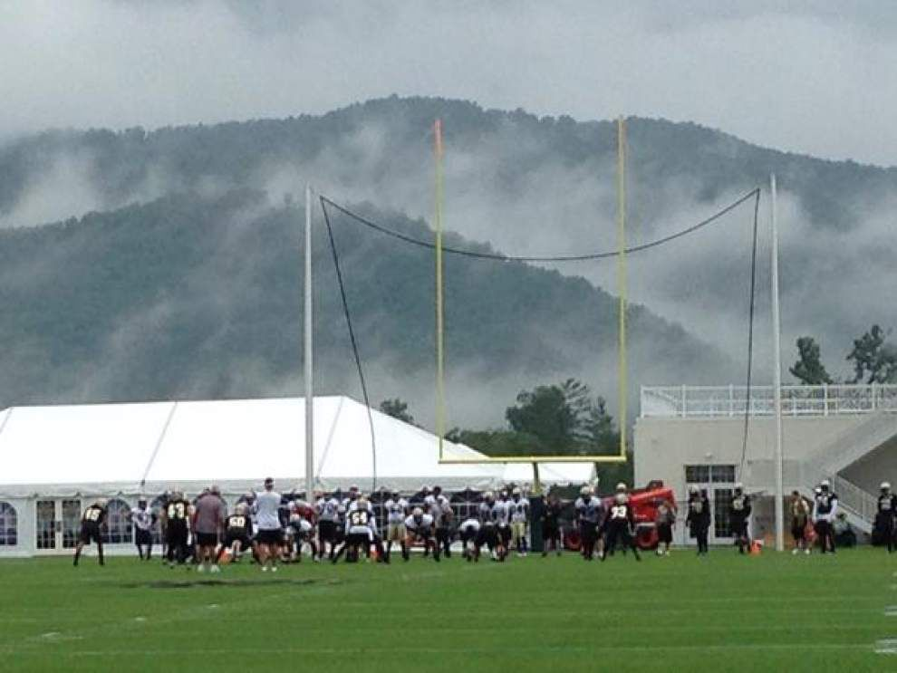 Notes and observations from Saints training camp: Who stood out, and some differences on defense _lowres