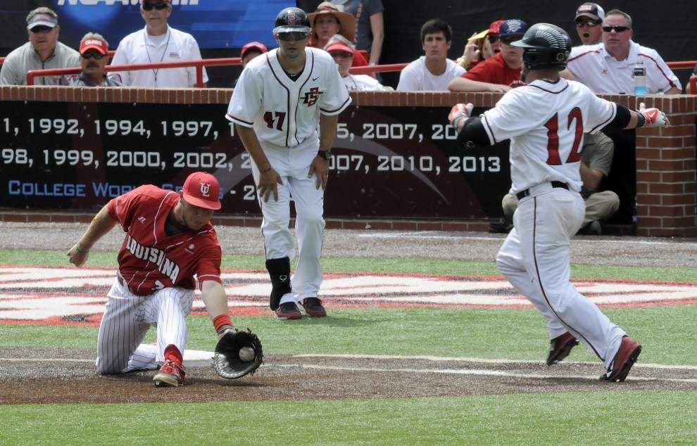 Cajuns bullpen in good shape heading to Sunday _lowres