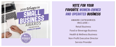 2019 Women in Small Business Awards