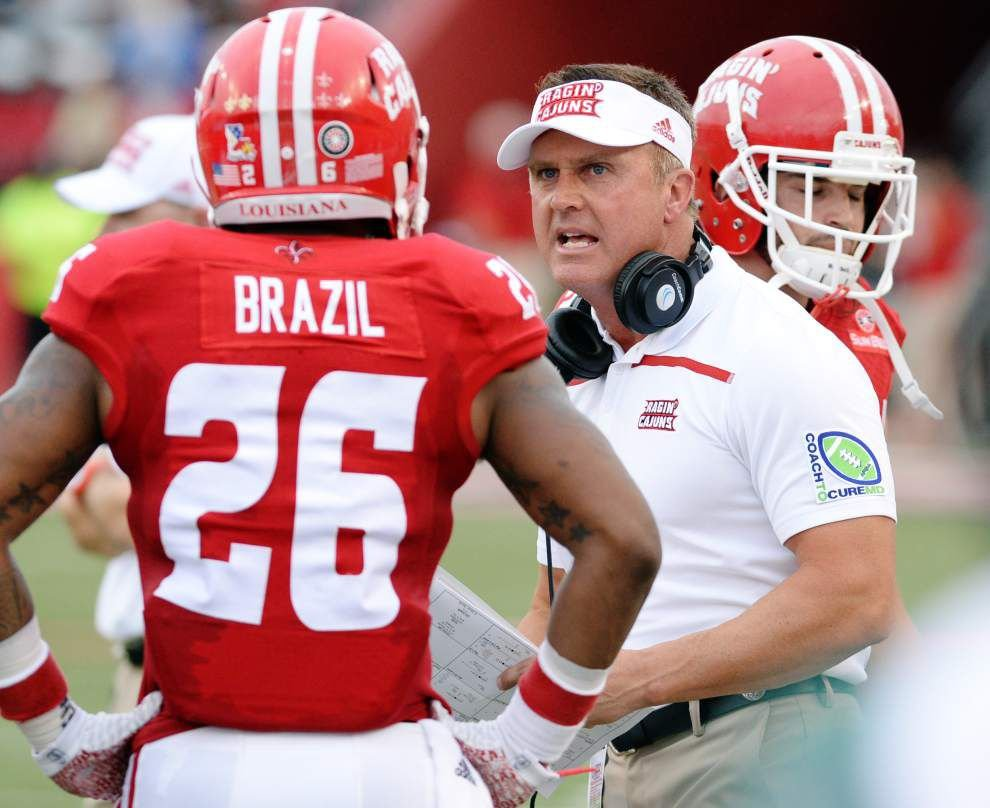 Cajuns glad to turn focus on Sun Belt play on football schedule _lowres