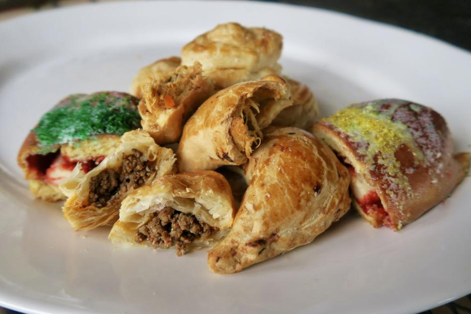 New food for the Mardi Gras party from Cajun country, Latin groceries, Vietnamese cafés