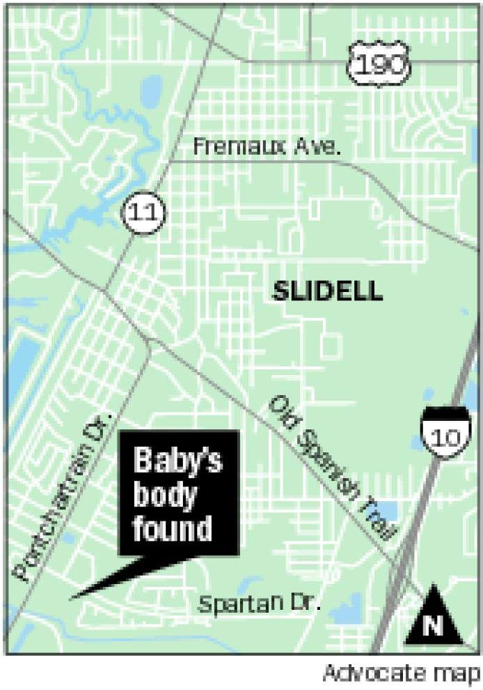 Slidell mother arrested in death of baby girl dumped in trash compactor; police: Woman hid pregnancy from family, gave birth alone in tub _lowres