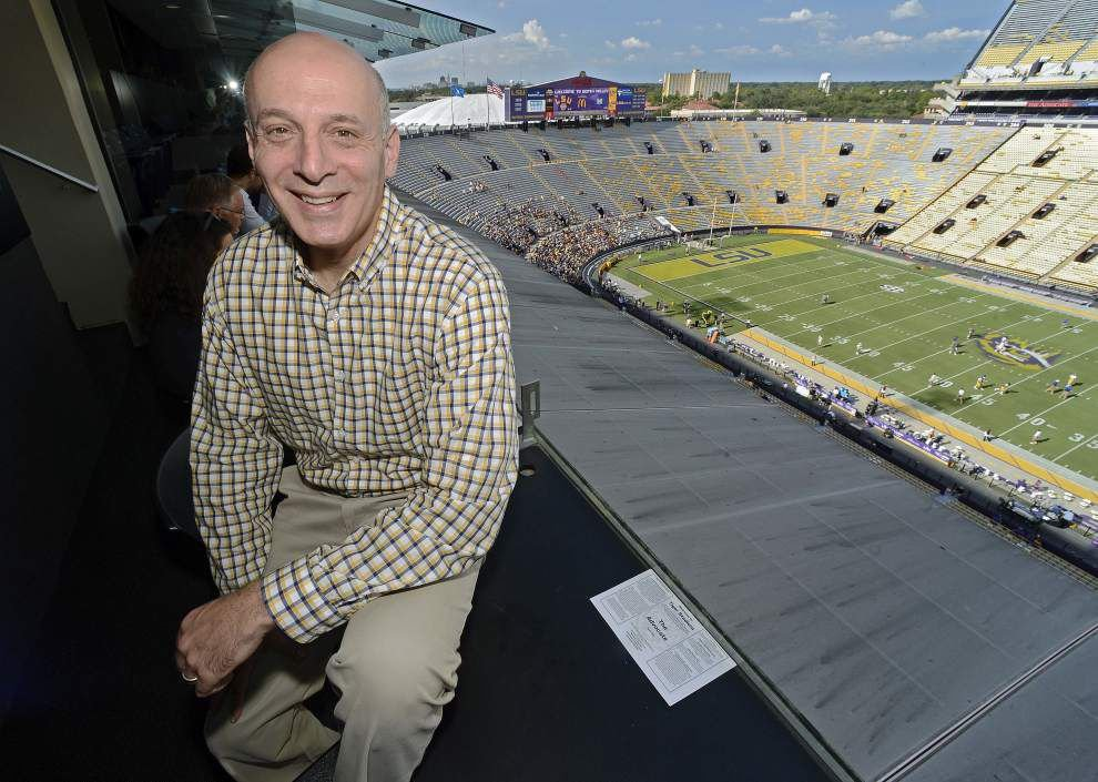 Pulitzer Prize winner Jeff Marx profiles LSU athletes in latest book _lowres