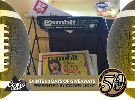 Promo: Saints 50 Days of Giveaways presented by Coors Light®_lowres