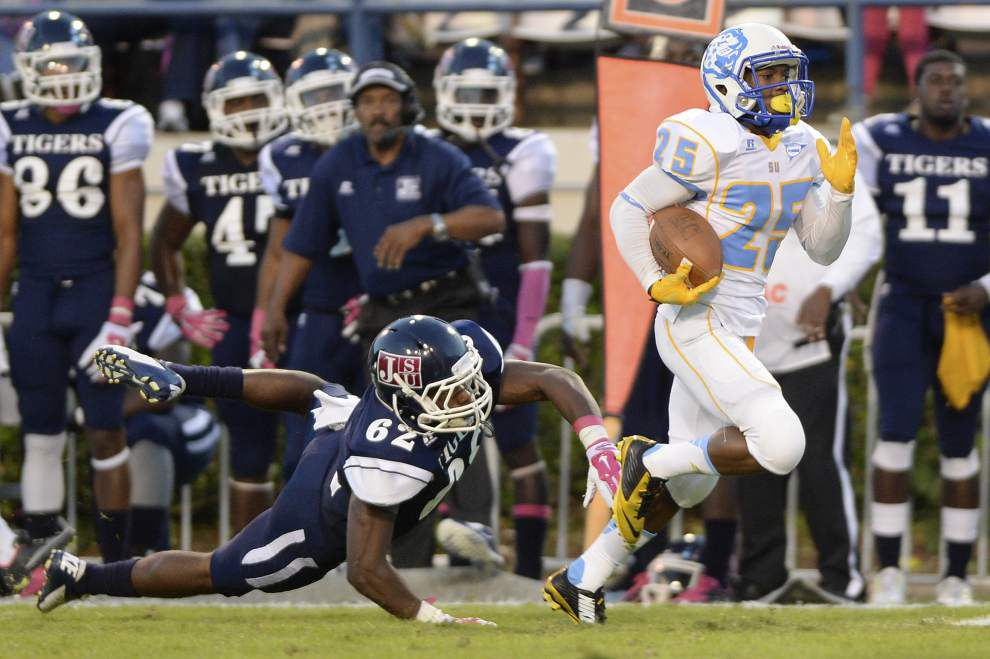 Big plays remain the calling card for Southern's Willie Quinn _lowres