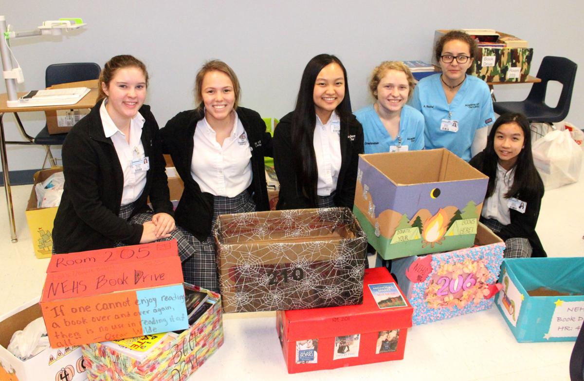 Academy Our Lady book drive.jpg
