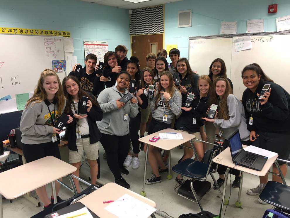 Calculators purchased for St. Amant ninth-graders in algebra, geometry _lowres