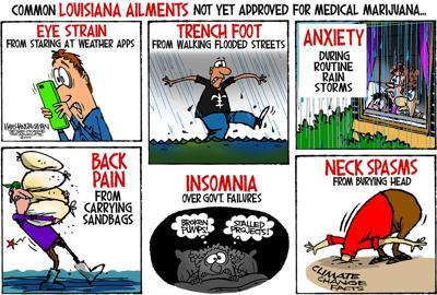 Walt Handelsman: Louisiana Medical Marijuana