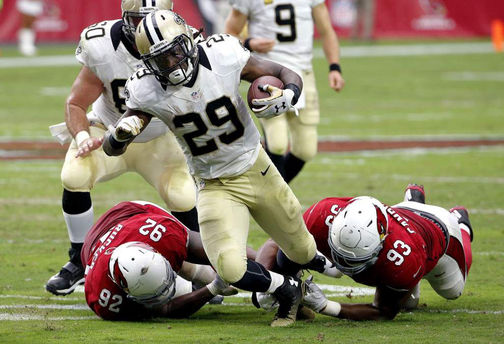 Photos: Saints lose to the Arizona Cardinals in their season opener _lowres