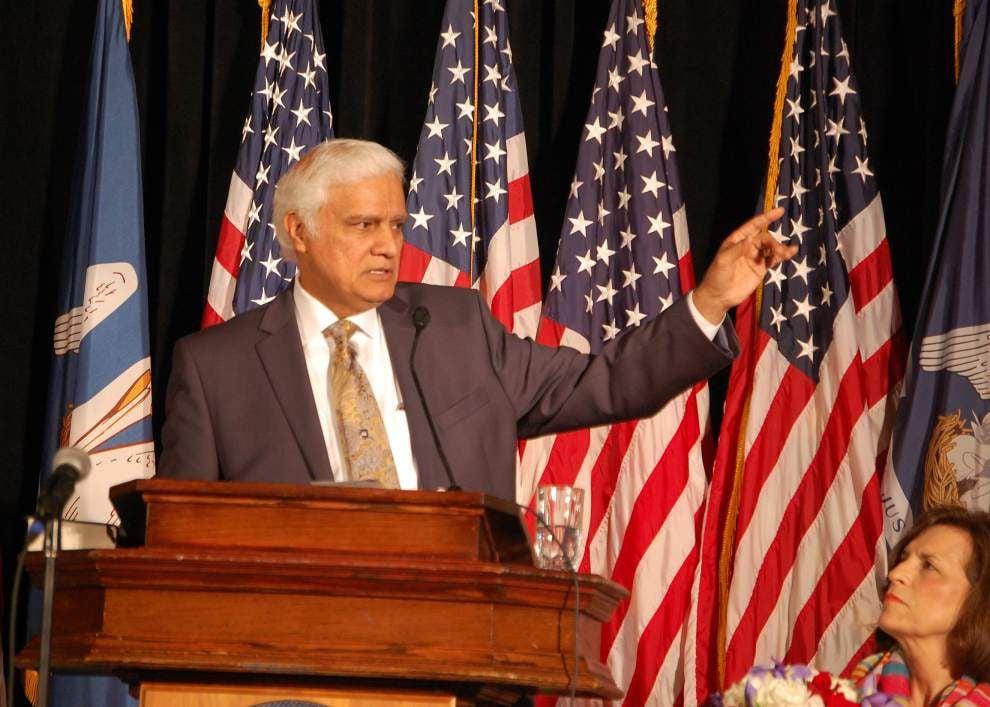 Evangelist Ravi Zacharias speaks at Governor's Prayer Breakfast _lowres