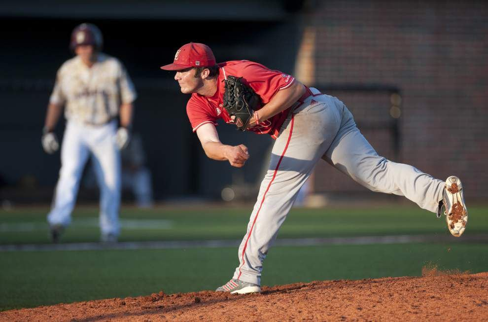 Cajuns baseball squad sweeps Texas State, scores spot in Sun Belt tournament title game _lowres