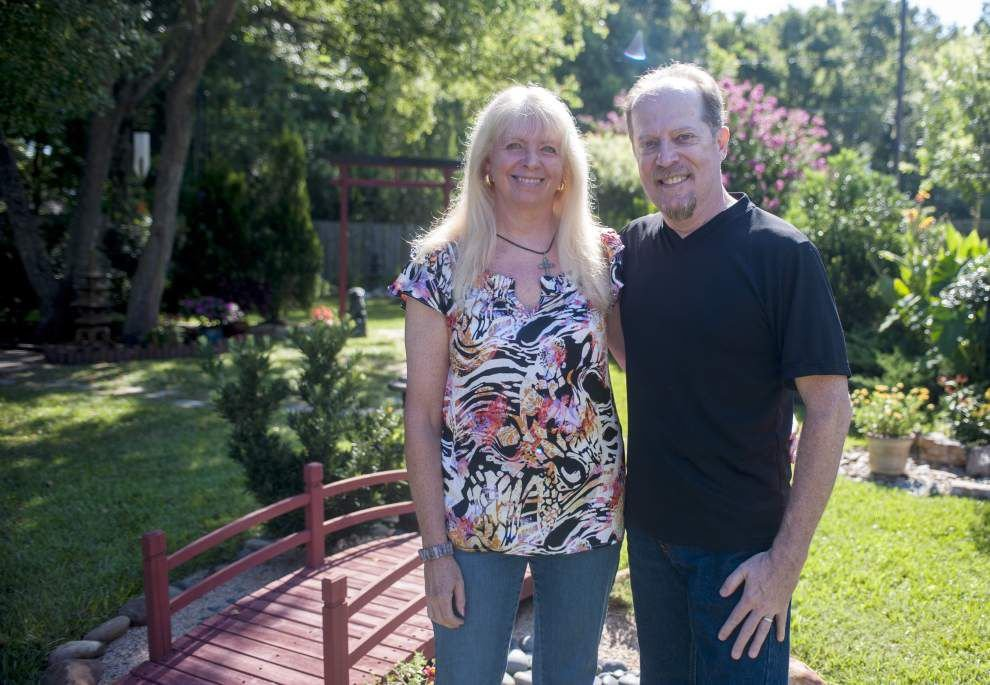 Japanese garden brings solace to Prairieville couple _lowres