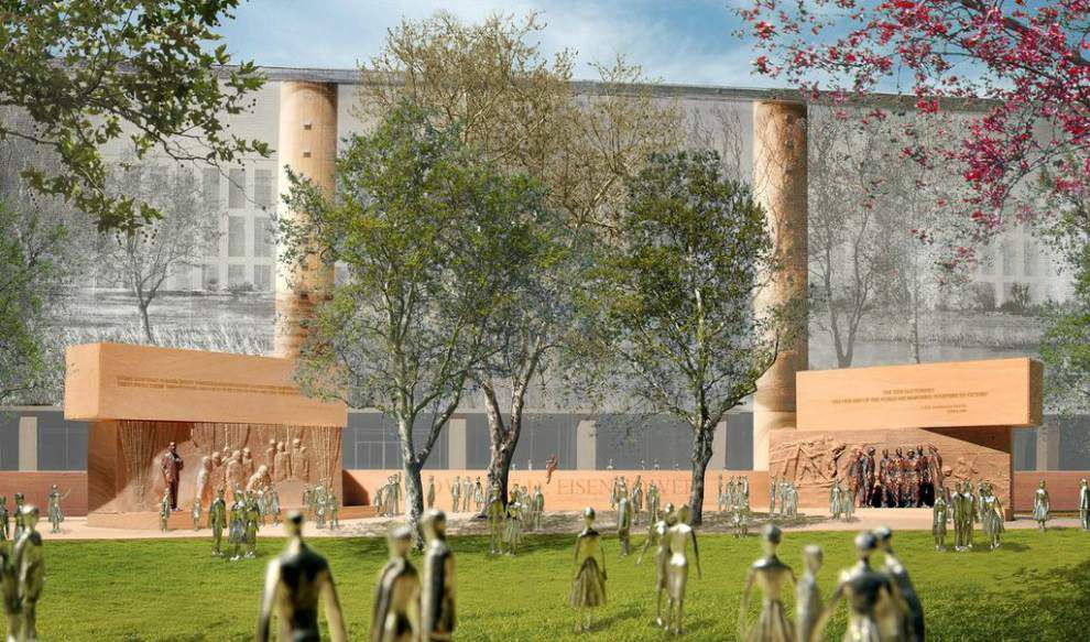 Congress says no to Eisenhower Memorial funding _lowres