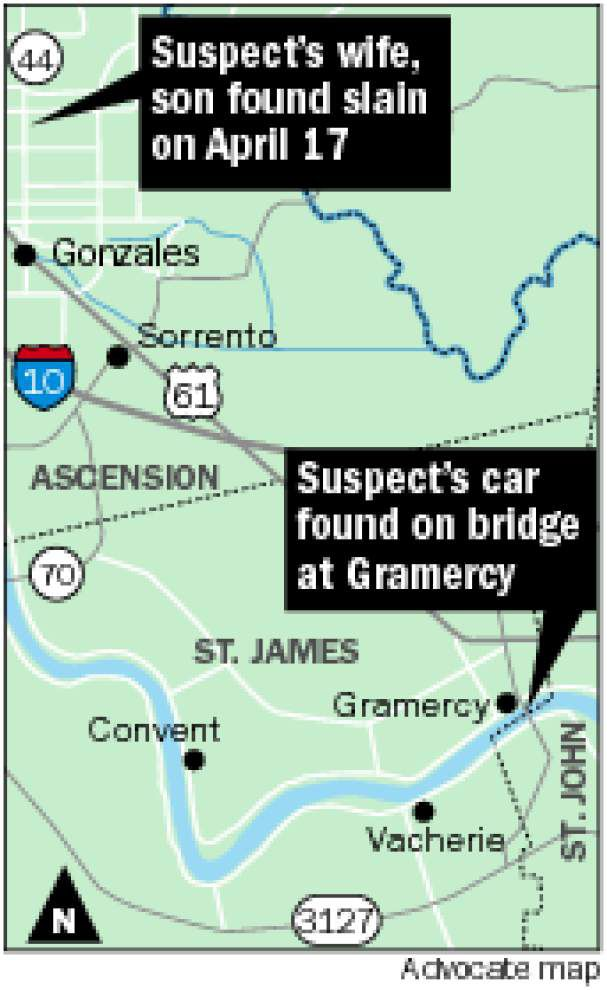 Mystery remains: Did Ascension murder suspect jump from a bridge, or escape? _lowres