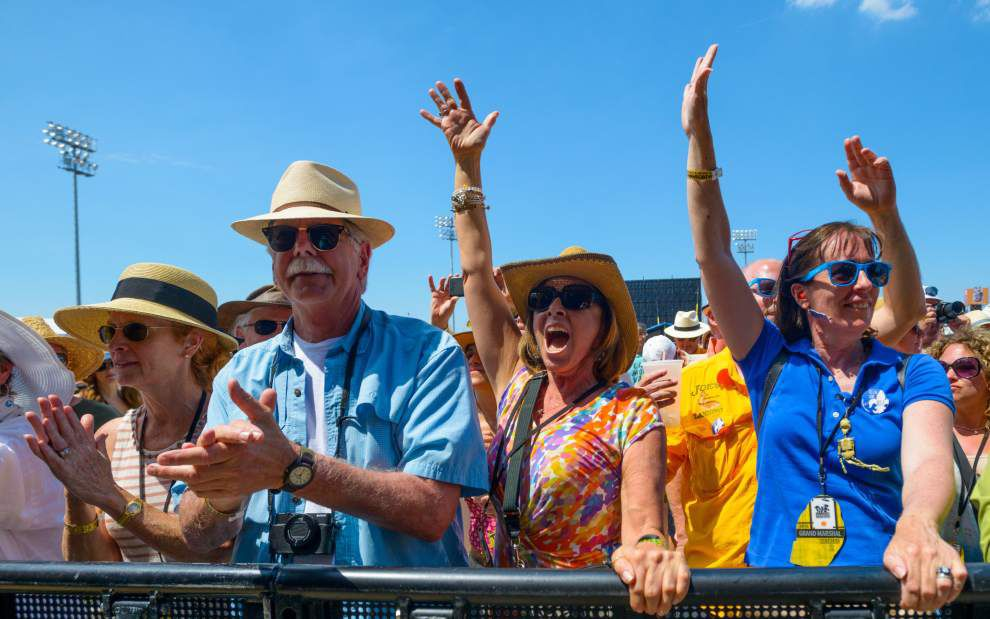 2015 Photos: Elton John, Aaron Neville, TI and Jerry Lee Lewis shine on brilliant Saturday at Jazz Fest _lowres