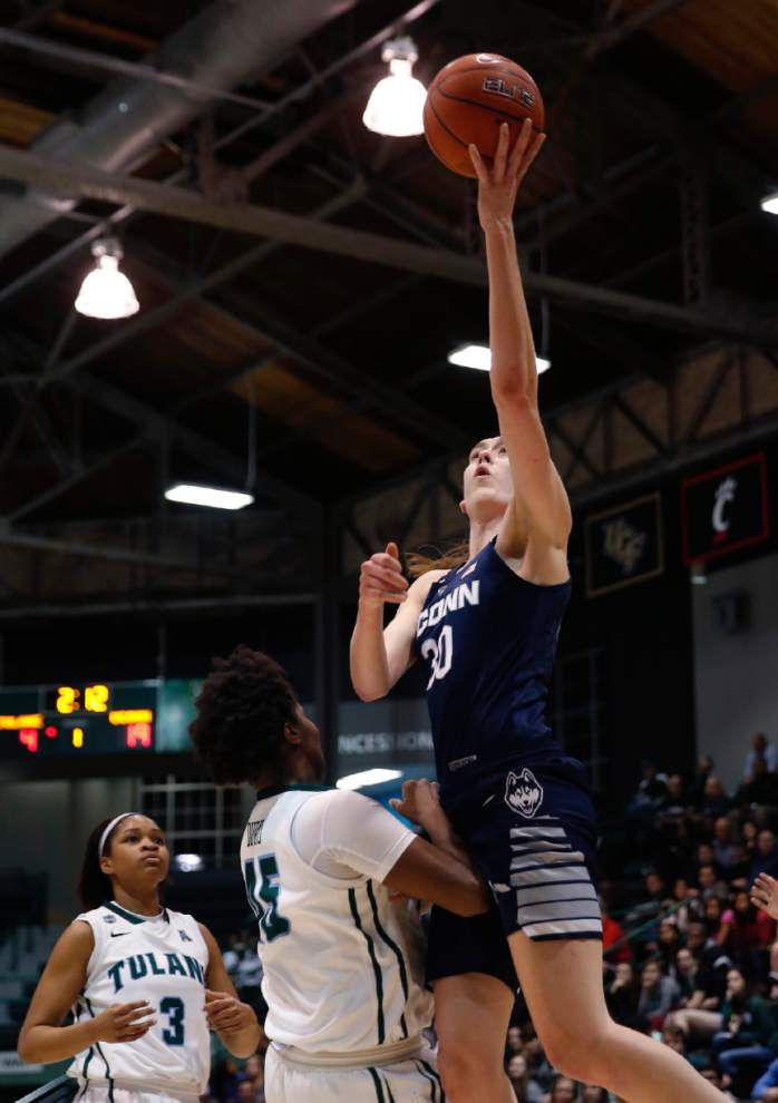 Tulane women no match for No. 1 UConn in 96-38 loss _lowres