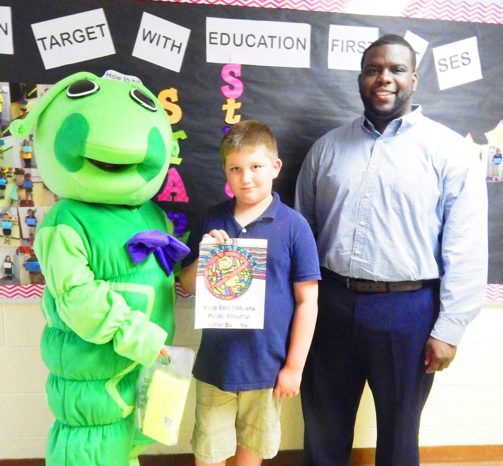 East Feliciana students win Litter Bug contest _lowres