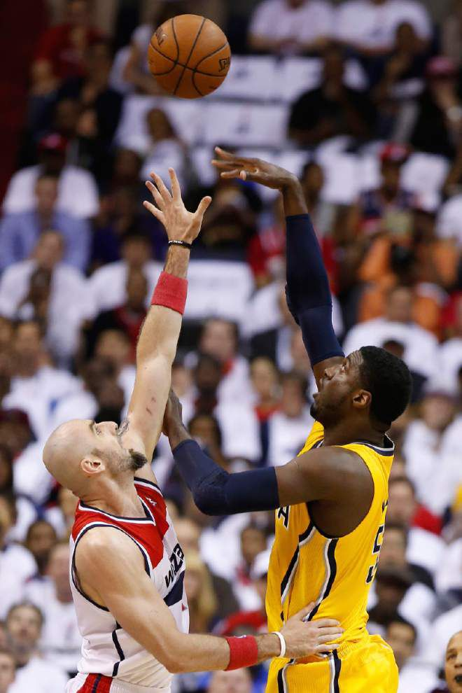Pacers, Thunder advance in NBA playoffs _lowres